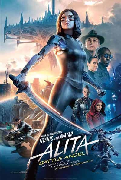 Film Bioskop Tayang Februari 2019 - Alita: Battle Angel - 6 Februari 2019