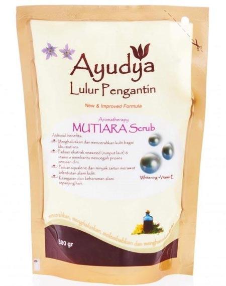 Merk Body Scrub Yang Bagus - Ayudya Lulur Pengantin Aromatheraphy Mutiara Scrub
