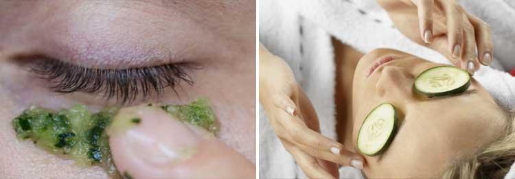 Tips Dan Cara Yang Mudah Dalam Merawat Area Sekitar Mata Pada Wanita - Masker mentimun