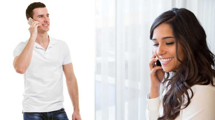 Cara PDKT Yang Paling Ampuh Untuk Mendapatkan Pacar - Awali PDKT melalui chat dan lanjutkan dengan obrolan lewat telepon