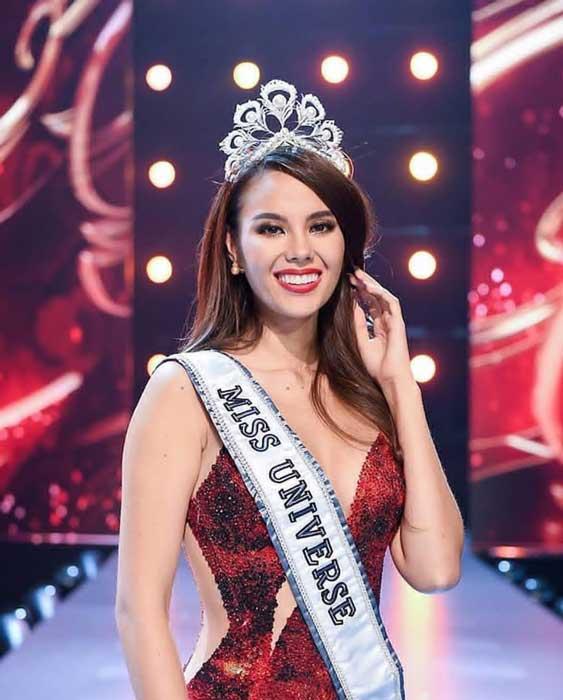 Pemenang Miss Universe Dari Waktu Ke Waktu - Catriona Gray - 2018