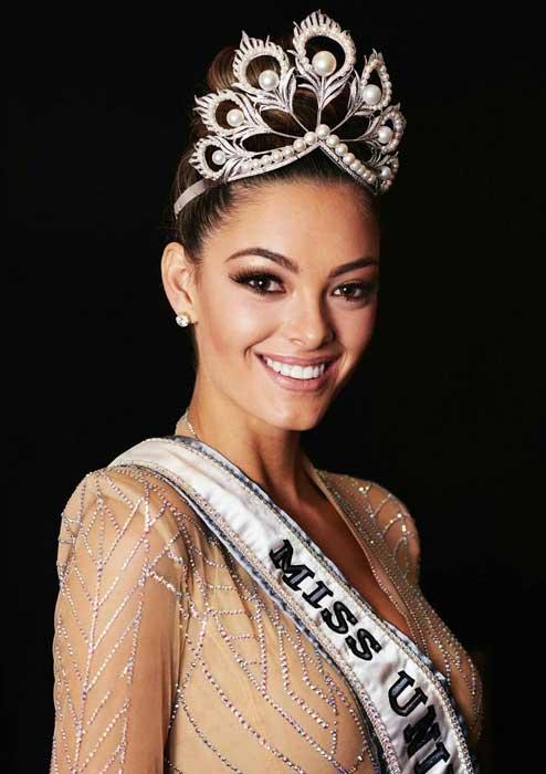 Pemenang Miss Universe Dari Waktu Ke Waktu - Demi-Leigh Nel-Peters - 2017