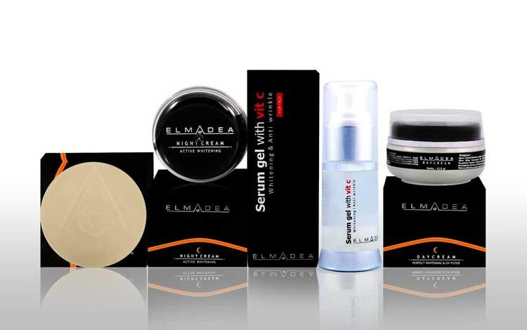 Krim Pemutih Wajah Yang Aman Dan Bersertifikat Bpom - Elmadea Day Cream Perfect Whitening & UV Filter
