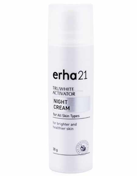 Krim Pemutih Wajah Yang Aman Dan Bersertifikat Bpom - Erha21 Truwhite Activator Night Cream For All Skin Types