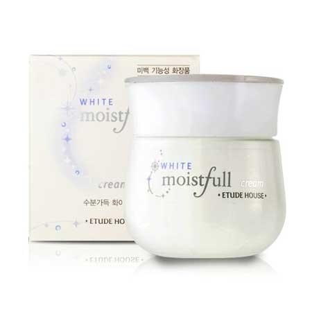 Krim Pemutih Wajah Yang Aman Dan Bersertifikat Bpom - Etude House Moistfull White Cream