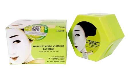 Krim Pemutih Wajah Yang Aman Dan Bersertifikat Bpom - FPD Beauty Herb Whitening Cream