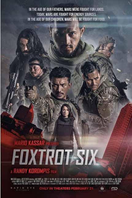 Film Bioskop Tayang Februari 2019 - Foxtrot Six - 21 Februari 2019