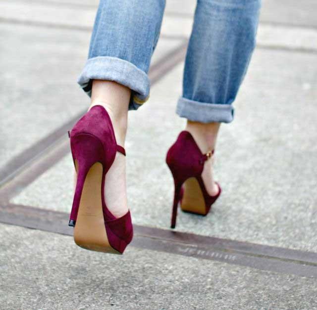 Tips Memilih High Heels Yang Aman Dan Nyaman Untuk Dipakai Sehari-hari - Hindari pemakaian heels setiap hari