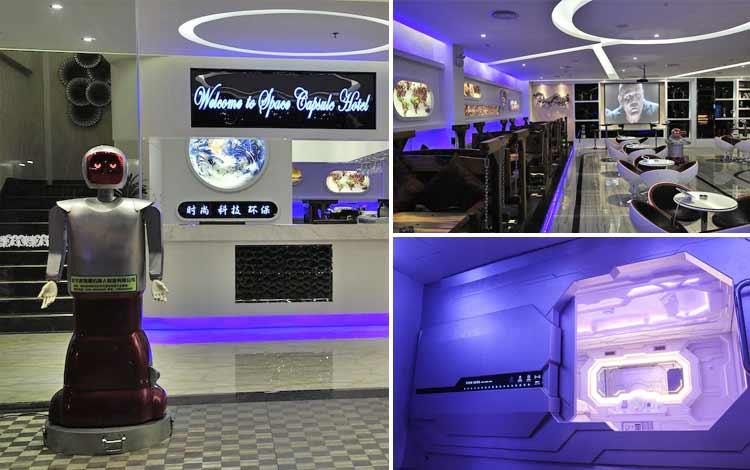 Hotel dengan teknologi canggih - Pengheng Space Capsules Hotel