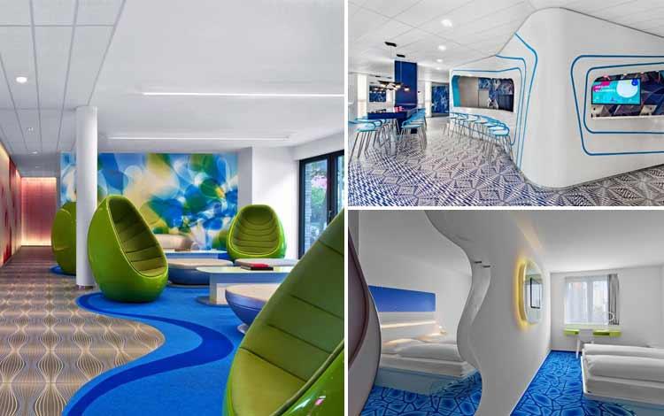 Hotel dengan teknologi canggih - Rizeotel Hamburg City, Jerman