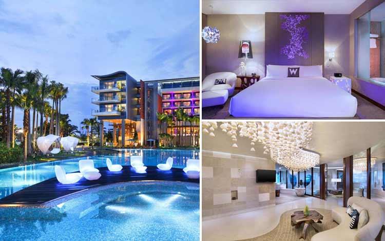 Hotel dengan teknologi canggih - W Singapore Sentosa Cove