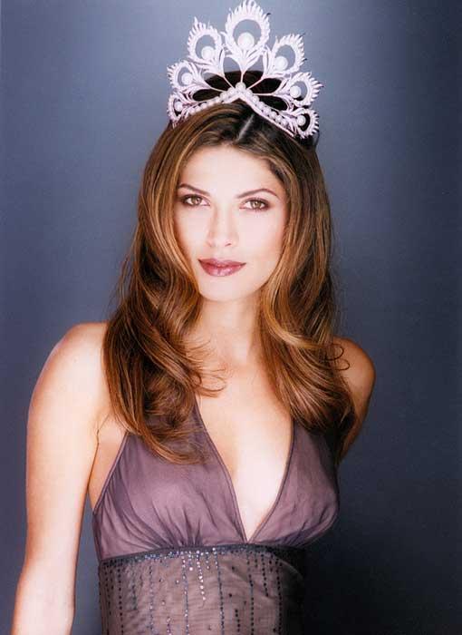 Pemenang Miss Universe Dari Waktu Ke Waktu - Justine Pasek - 2002