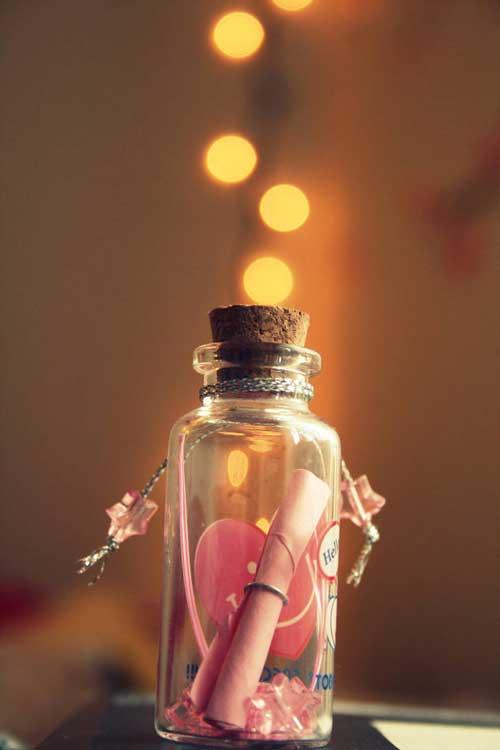 Rekomendasi Hadiah Atau Kado Valentine Untuk Pacar Dan Sahabat - Message in the bottle