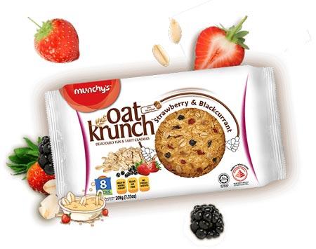 Merek Biskuit Yang Bagus Untuk Diet - Munchy's Oat Krunch