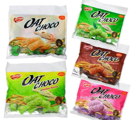Merek Biskuit Yang Bagus Untuk Diet - Naraya Oat Choco