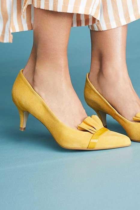 Tips Memilih High Heels Yang Aman Dan Nyaman Untuk Dipakai Sehari-hari - Pilihlah tinggi heels atau hak yang sesuai