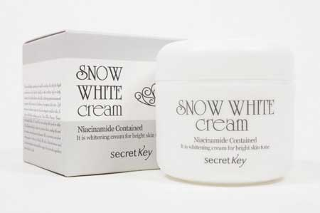 Krim Pemutih Wajah Yang Aman Dan Bersertifikat Bpom - Secret Key Snow White Cream