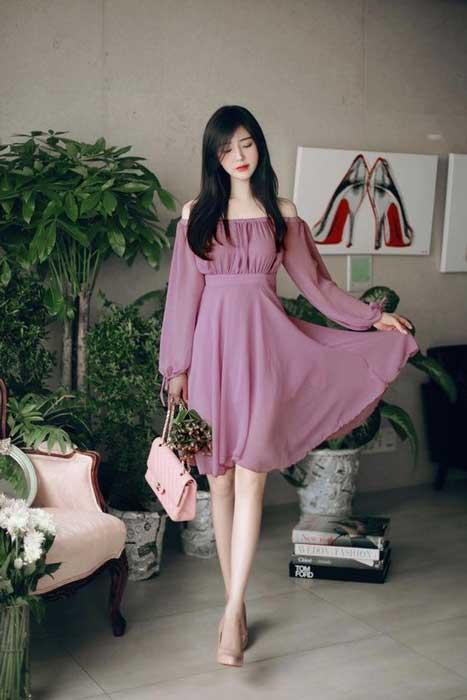 Tips Memilih Baju Untuk Wanita Yang Bertubuh Kurus - Siluet Dress