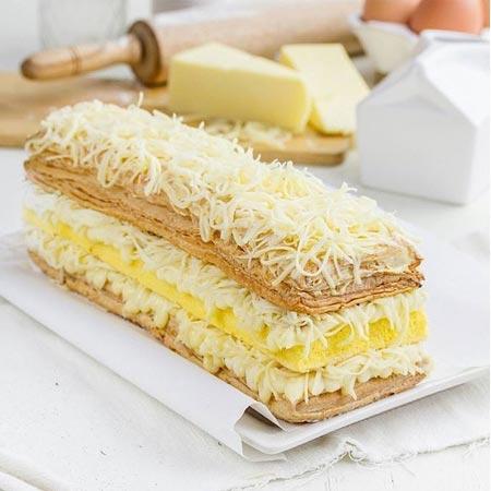 Makanan dan Minuman Khas Surabaya - Surabaya Snowcake