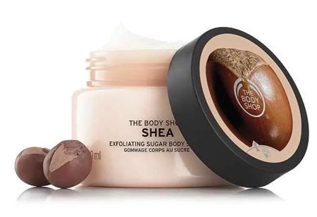 Merk Body Scrub Yang Bagus - The Body Shop Shea Body Scrub