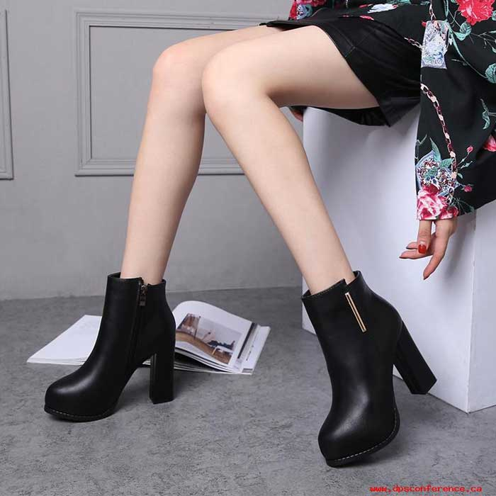 Trend Fashion Korea Yang Akan Booming Di Tahun 2019 - Heeled Boots