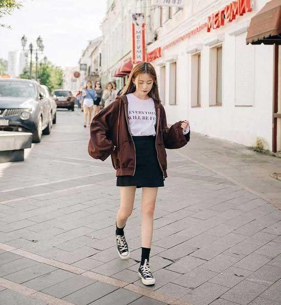 Trend Fashion Korea Yang Akan Booming Di Tahun 2019 - Lazy Outfits