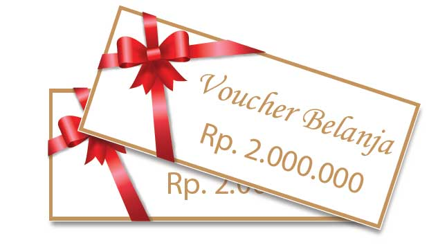 Rekomendasi Hadiah Atau Kado Valentine Untuk Pacar Dan Sahabat - Voucher benlanja