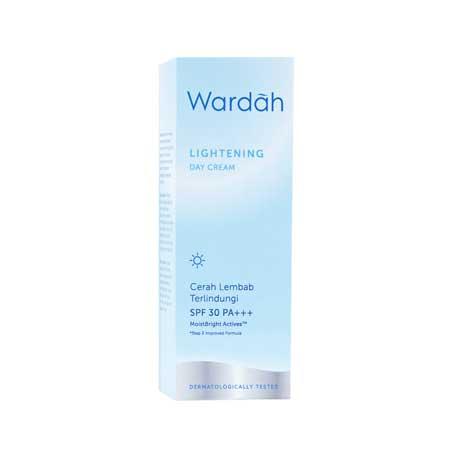 Krim Pemutih Wajah Yang Aman Dan Bersertifikat Bpom - Wardah Lightening Day Cream
