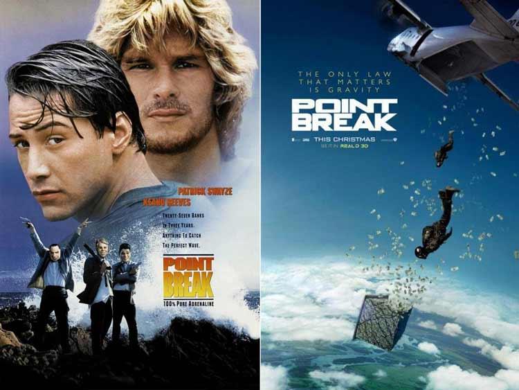 Daftar Film Keanue Reeves Terbaik - Point break