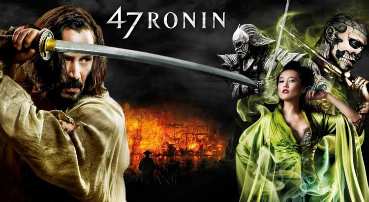 Daftar Film Keanue Reeves Terbaik - 47 Ronin