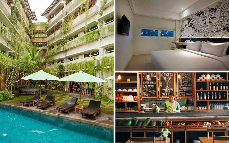 Hotel Bagus dan Murah di Bali - Grandmas Plus Hotel