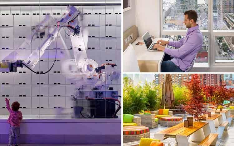 Hotel Dengan Teknologi Super Canggih di Dunia Yotel, Manhattan