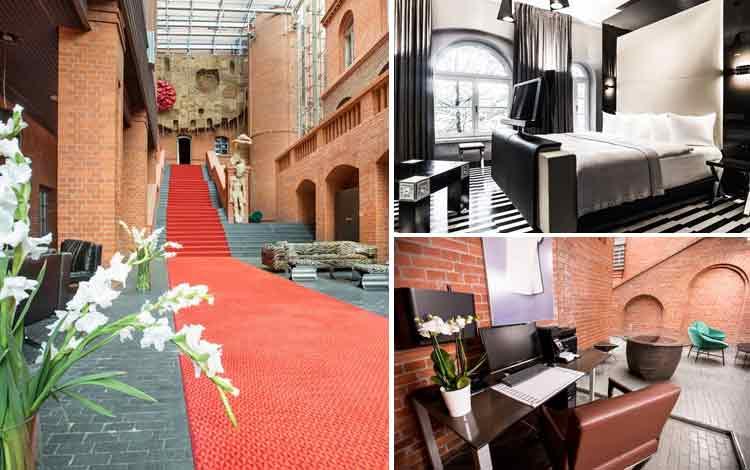 Hotel Dengan Teknologi Super Canggih di Dunia Blow Up Hall 5050, Poznan, Polandia