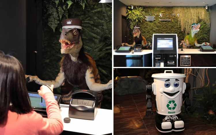 Hotel Dengan Teknologi Super Canggih di Dunia Hen na Hotel, Nagasaki Jepang