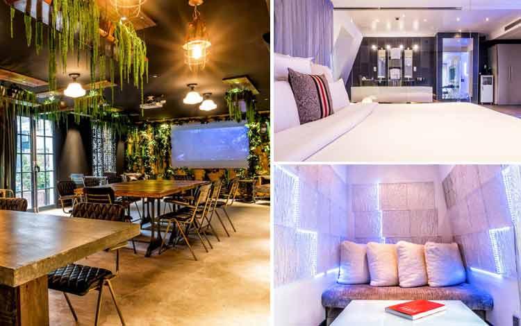 Hotel Dengan Teknologi Super Canggih di Dunia Kube Hotel, Paris