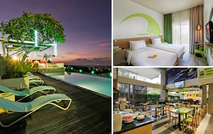 Hotel Bagus dan Murah di Bali MaxOne Hotels at Bukit Jimbaran