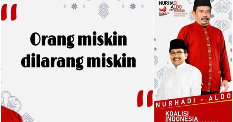 """Viral! Berbagai Meme Kocak Kutipan Ala """"Capres Nurhadi-Aldo"""""""