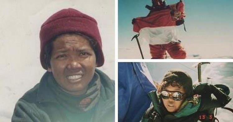 Daftar Orang Indonesia yang Paling Pertama - Clara Sumarwati (Orang Indonesia pertama yang mencapai Puncak Everest)