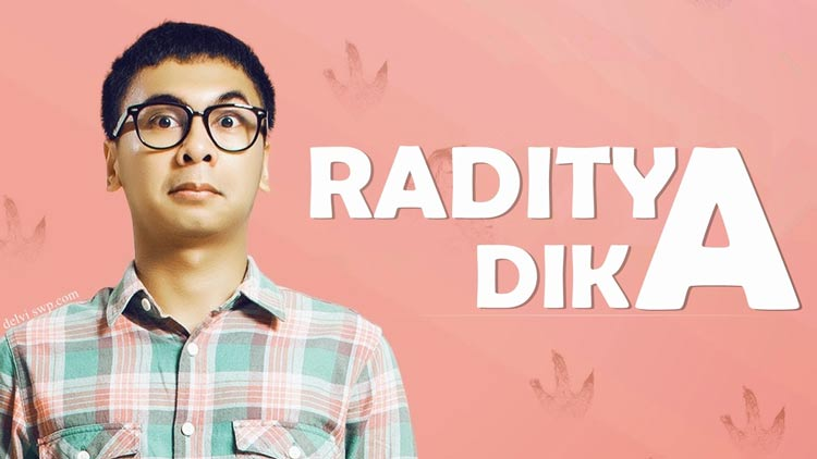 Daftar Orang Indonesia yang Paling Pertama - Raditya Dika (Orang Indonesia pertama mendapat Youtube Partner Rewards)