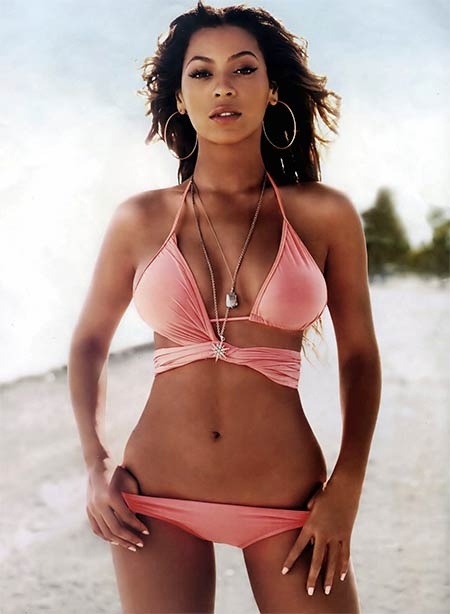 Penyanyi barat cantik dan seksi - Beyonce