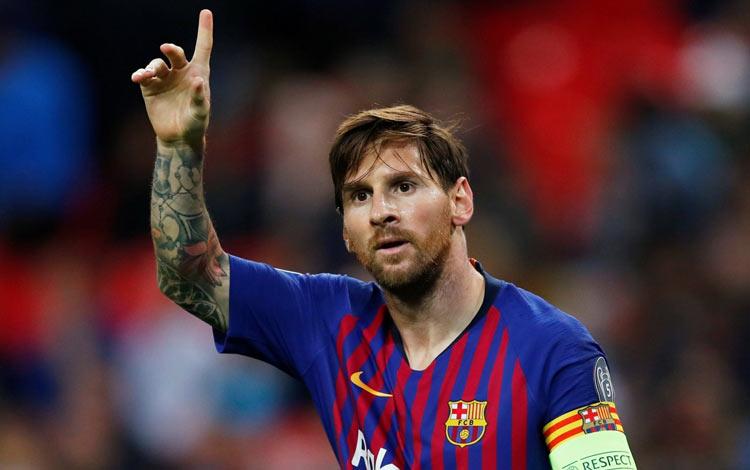 10 Pesepak Bola Dunia dengan Gaji Tertinggi Terbaru Lionel Messi