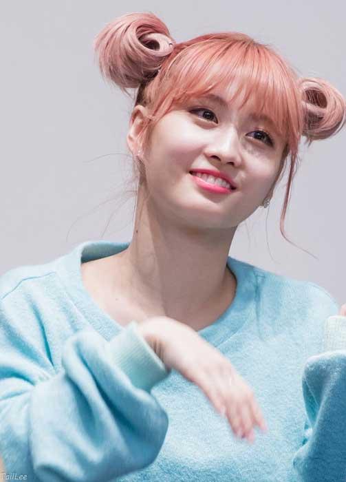 Gaya Rambut Idol Kpop Wanita Yang Trend - Pucca Buns Hairstyle