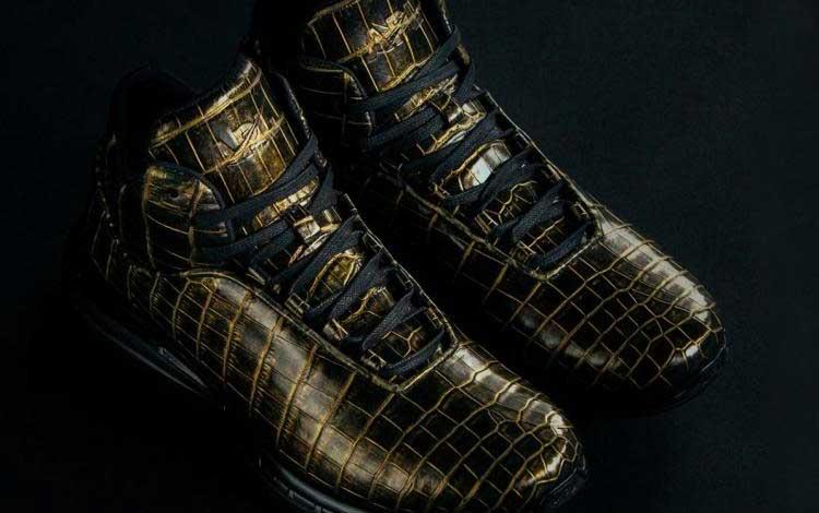 Sneaker Termahal di Dunia - APL 24K Gold Crocodile