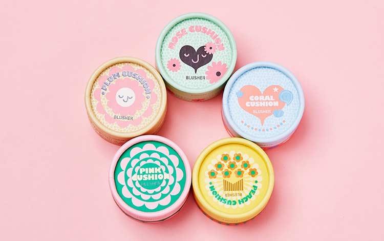 Perlengkapan make up Korea yang bagus - Blush On