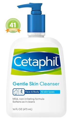 Merk Cleanser Yang Bagus Untuk Kulit Berjerawat - Cetaphil Gentle Skin Cleanser