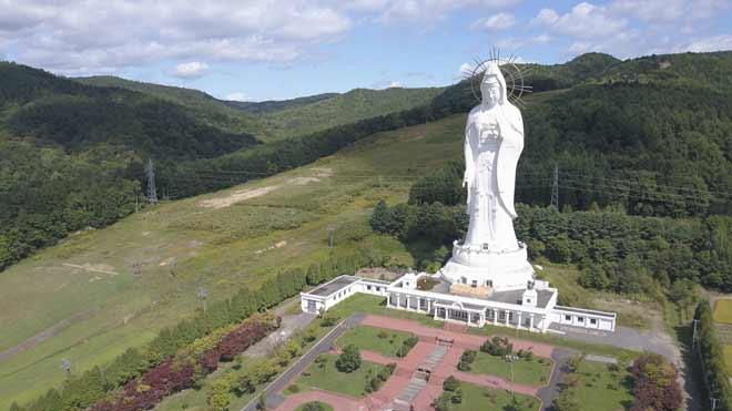 Daftar Patung Tertinggi Di Dunia - Dai Kannon of Kita no Miyako park