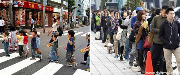 Berbagai Budaya Positif Jepang Yang Patut Dicontoh Dan Ditiru - Disiplin dan taat peraturan