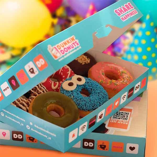Daftar Merek Donat Terkenal, Terpopuler Dan Terbesar Di Indonesia - Dunkin' Donuts