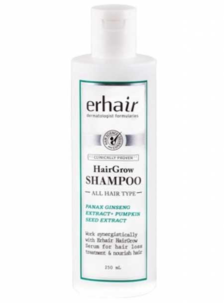 Merk Shampo Untuk Memanjangkan Rambut - Erha Hair Grow Shampoo