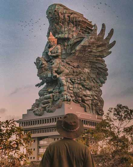 Daftar Patung Tertinggi Di Dunia - Garuda Wisnu Kencana